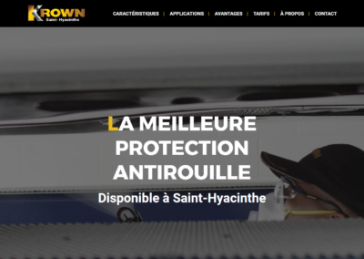 Krown Saint-Hyacinthe – Pages de destination