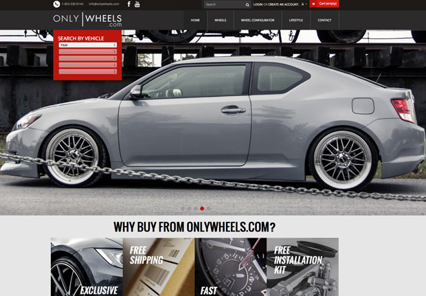Onlywheels.com – Site Prestashop