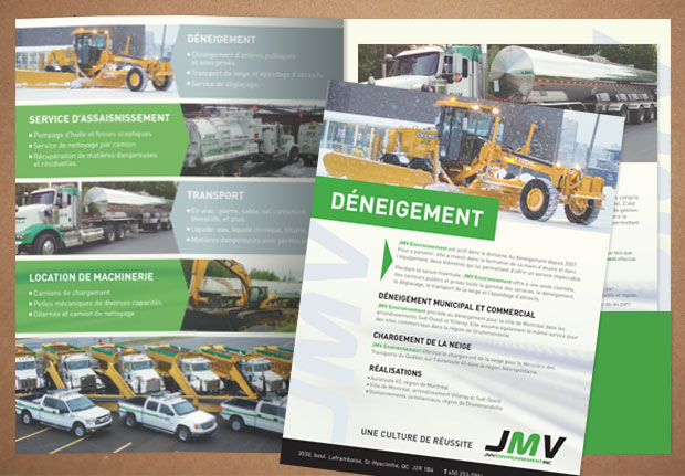 Production de documents JMV